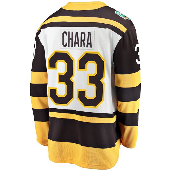 Boston Bruins 2019 Winter Classic Mens Black Jersey 33 Zdeno Chara or Any  Name Number. Hover over image to zoom. Click to enlarge Click to enlarge  Click to ... c36d90b07