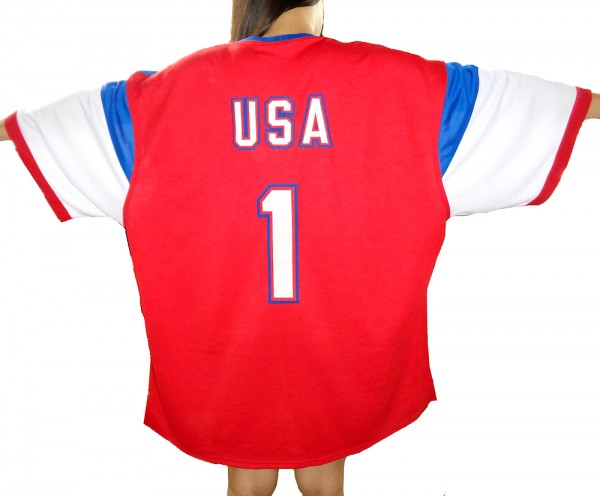 9213d075d Team USA Mens Nike Style Away Red White Blue Soccer Jersey 2014/15. Hover  over image to zoom. Click to enlarge Click to enlarge Click to enlarge ...