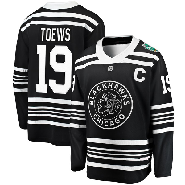 Winter Classic 2019 Chicago Blackhawks Jersey Toews 19 or Any Name Number ec51bd95f