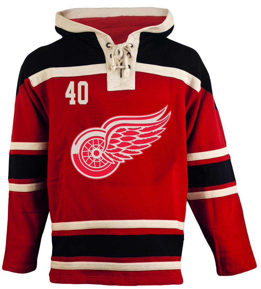 Netherlands Detroit Red Wings Jersey Black 2f017 B8dbe