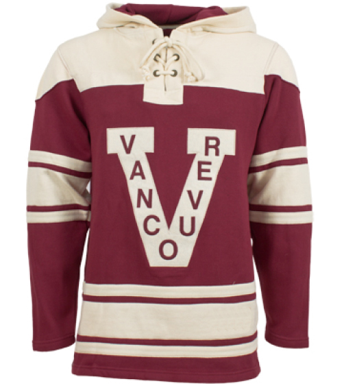 Mens Vancouver Millionaires Old Time Burgundy Lace ...