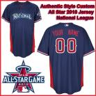 National League Authentic Personalized 2010 All-Star BP Jersey