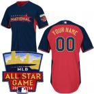 National League Authentic Personalized 2014 All-Star BP Jersey