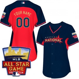 All-Star 2014 National League Women's Personalized BP Jersey