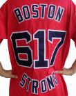 Red Sox Alternate BOSTON 617 STRONG Red Jersey