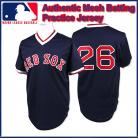 Boston Red Sox Authentic Style Vintage Mesh Batting Jersey #26 Wade Boggs