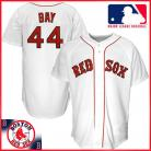 Boston Red Sox Authentic Style Home White Jersey #44 Jason Bay