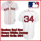 Boston Red Sox Authentic Style Home White Jersey David Ortiz #34