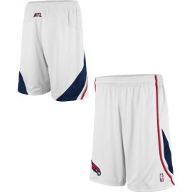 Mens Atlanta Hawks White Authentic Style On-Court Shorts