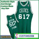 Celtics  BOSTON 617 STRONG NBA Basketball Green Tribute Jersey