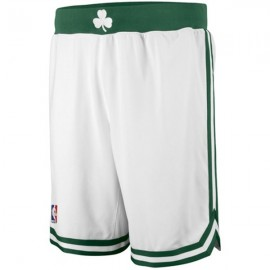 Mens Boston Celtics White Authentic Style On-Court Shorts