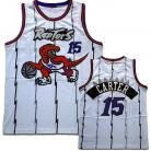 Toronto Raptors Custom Authentic Style Throwback White Jersey