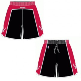 Mens Toronto Raptors Alt Black Authentic Style On-Court Shorts