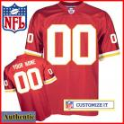 Kansas City Chiefs RBK Style Authentic Home Red Jersey (Pick A Player)