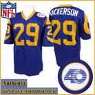 Los Angeles Rams Authentic Style Throwback Blue Jersey #29 Eric Dickerson