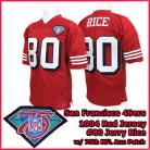 San Francisco 49ers 1994 NFL Red Jersey #80 Jerry Rice