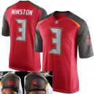 Tampa Bay Buccaneers Nike Elite Style Home Red Jersey #3 Winston