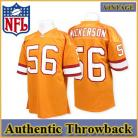 Tampa Bay Buccaneers Authentic Style Throwback Orange Jersey #56 Hardy Nickerson