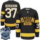 Boston Bruins 2016 Winter Classic Mens Black Jersey  37 Patrice Bergeron