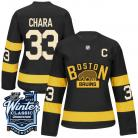 Boston Bruins 2016 Winter Classic Ladies Black Jersey  33 Zdeno Chara