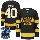 Boston Bruins 2016 Winter Classic Mens Black Jersey 40 Tuukka Rask