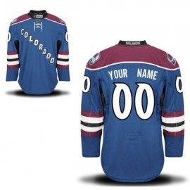 Colorado Avalanche NHL Premium Steel Blue Hockey Game Jersey
