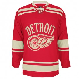 Winter Classic Detroit Red Wings 2014 NHL Custom or Blank Jersey