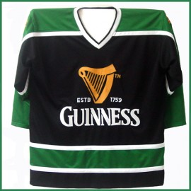 Guinness Beer Authentic St. Patrick's Day Ice Hockey Jersey