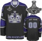 LA Kings Customized 2014 Stanley Cup Champions Black Third Jersey(Custom or Blank)