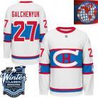 Montreal Canadiens  2016 Winter Classic Mens White Jersey 27 Alex Galchenyuk