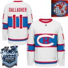 Montreal Canadiens  2016 Winter Classic Mens White Jersey 11 Brendan Gallagher