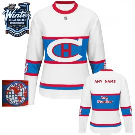 Montreal Canadiens  2016 Winter Classic Ladies White Jersey Custom or Blank