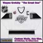 Wayne Gretzky 99 LA Kings Authentic Style White 1993 Stanley Cup Jersey