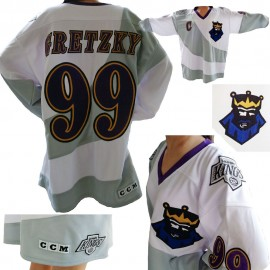Wayne Gretzky 1995 LA Kings 3nd Jersey Burger King