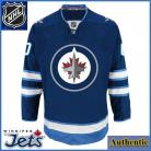 Winnipeg Jets  NHL Authentic Style Home Blue Hockey Game Jersey